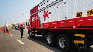 Congreso elimina multas a transportistas de carga terrestre